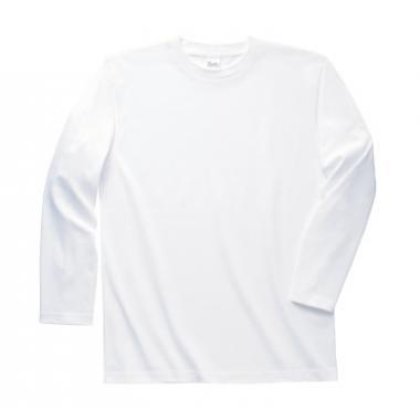 長袖リブ無しTシャツ
