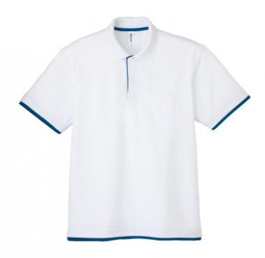 ドライレイヤードポロシャツ(ポケット付き)