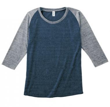 TRUSS トライブレンドラグラン7分袖Tシャツ TQS-121
