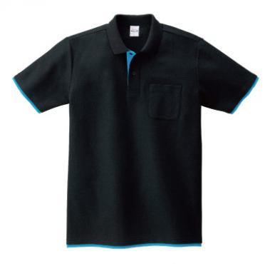 ベーシックレイヤードポロシャツ(ポケット付き) 195-BYP