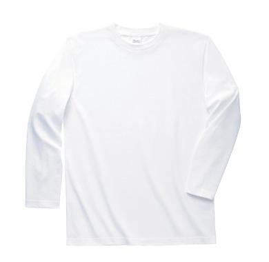 長袖リブ無しTシャツ 101-LVC