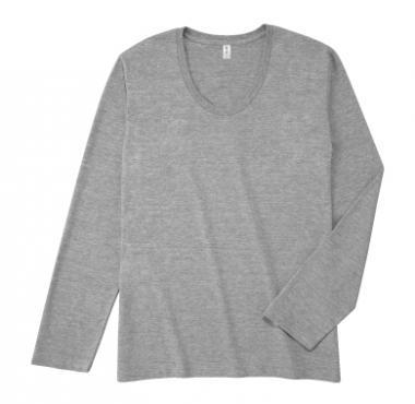 TRUSS スリムフィットUネックロングスリーブTシャツ SUL-116