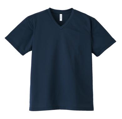 ドライVネックTシャツ 337-AVT