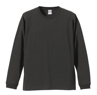 ロングスリーブTシャツ(1.6インチリブ) 5011