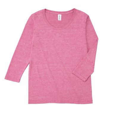 トライブレンド3/4スリーブTシャツ TBL-117