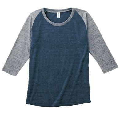 トライブレンドラグラン7分袖Tシャツ TQS-121