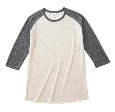 トライブレンド7分袖Tシャツ TQS-122