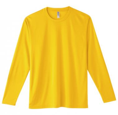 インターロックドライ長袖Tシャツ 352-AIL