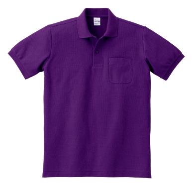 T/Cポロシャツ(ポケット付き) 100-VP