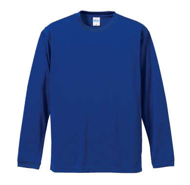 ドライシルキータッチロングTシャツ 5089
