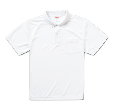 ドライアスレチックポロシャツ(ポケット付) 5912